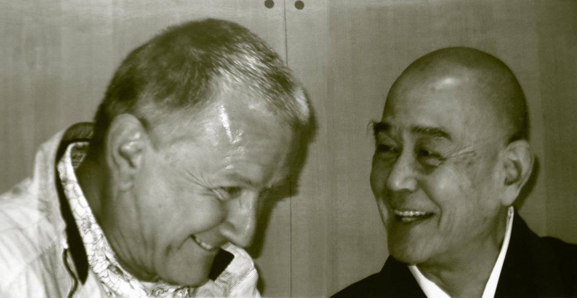 Philippe rie avec Tokuda